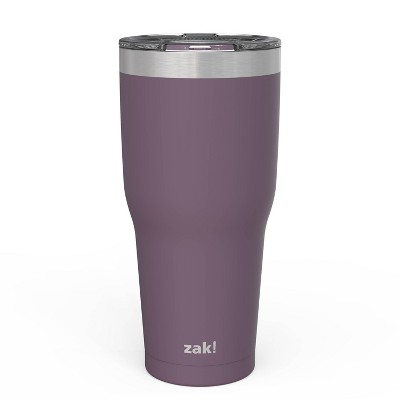 Zak! Designs 30oz Double Wall Stainless Steel Cascadia Tumbler with Contour Lid