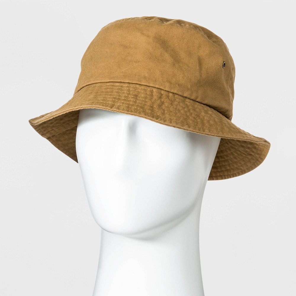 60s , 70s Hippie Clothes for Men Men39s Chino Bucket Hat - Goodfellow 38 Co8482 Khaki $17.99 AT vintagedancer.com
