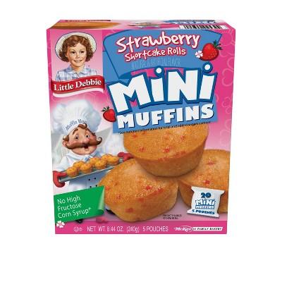 Little Debbie Strawberry Shortcake Mini Muffins - 8.44oz
