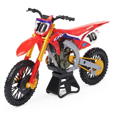Supercross - 1:10 Scale Die Cast Collector Motorcycle - Justin Brayton