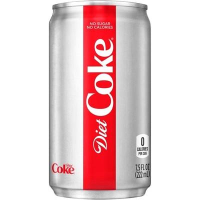 Diet Coke - 6pk/7.5 fl oz Mini-Cans