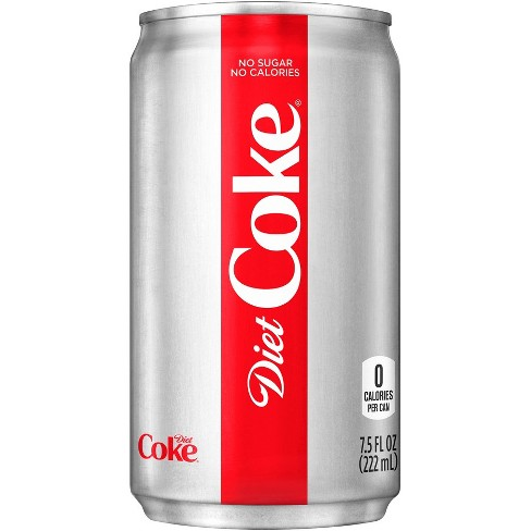 diet coke 6pk 7 5 fl oz mini cans target