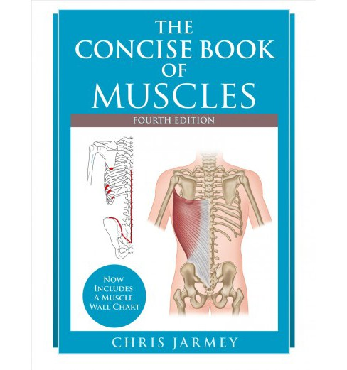 Concise Book of Muscles -  by Chris Jarmey (Paperback) - image 1 of 1