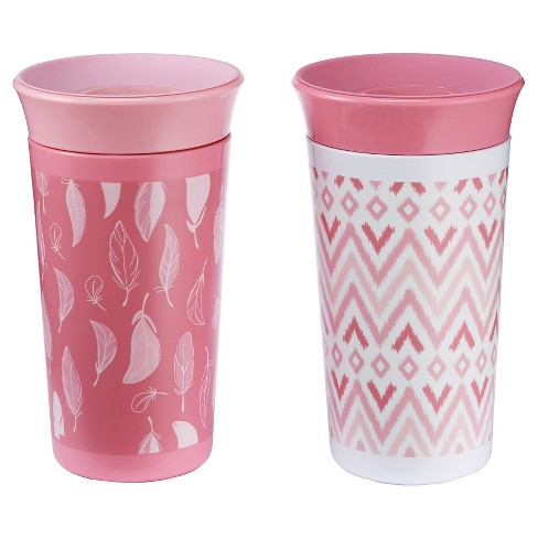 The First Years Simply Spoutless Cup 2pk - Pink - image 1 of 4