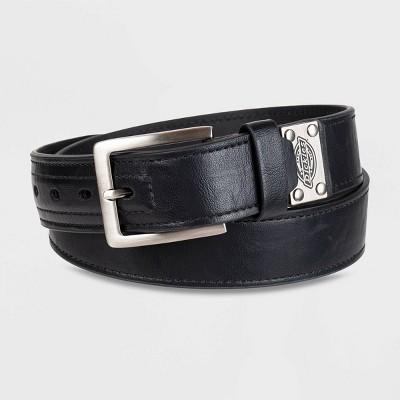Dickies Men's Buckle Belt - Black