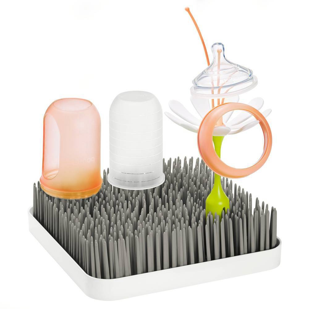 Image of Boon Grass Countertop Drying Rack - Gray