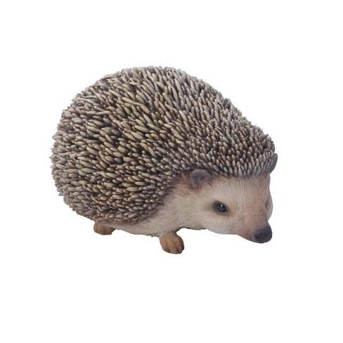 "3"" Polyresin Sitting Hedgehog Statue Gray - Hi-Line Gift - image 1 of 4"