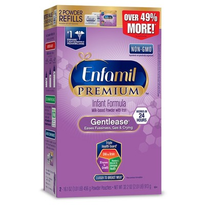 Enfamil Gentlease Infant Formula Powder Refill Box - 32.2oz