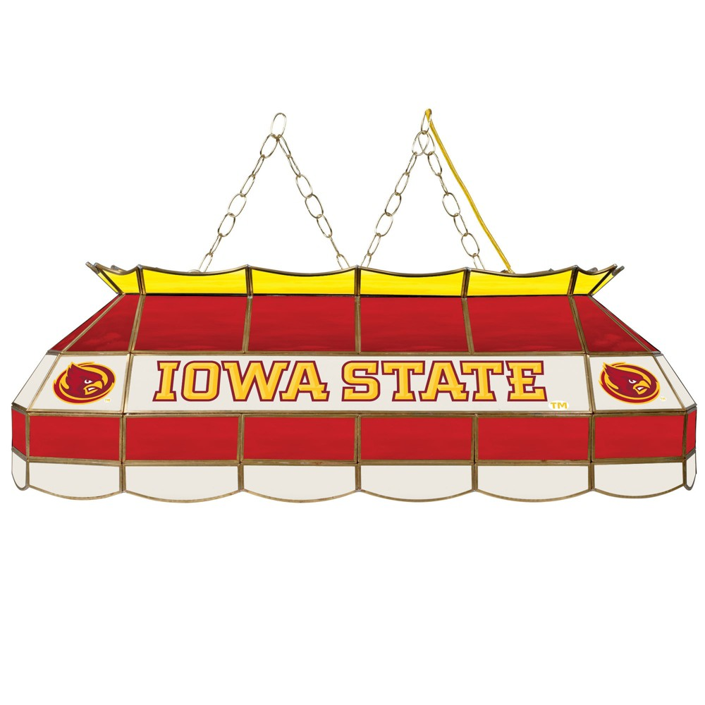 NCAA Iowa State Cyclones Stained Glass Tiffany Lamp - 40