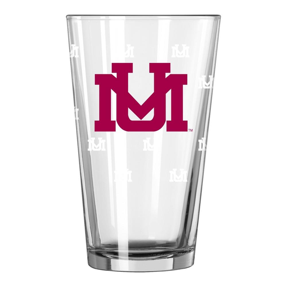 NCAA Montana Grizzlies Single Boxed Pint Glass - 16oz