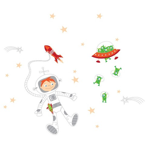 Journey into the Space Wall Decal - image 1 of 2
