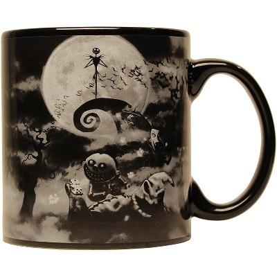 Silver Buffalo Nightmare Before Christmas Boogeyman 20oz Jumbo Ceramic Mug