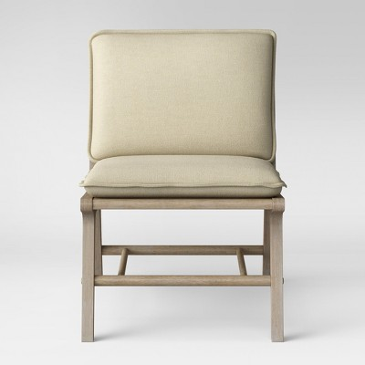 Lincoln Cane Chair With Upholstered Seat   Threshold™