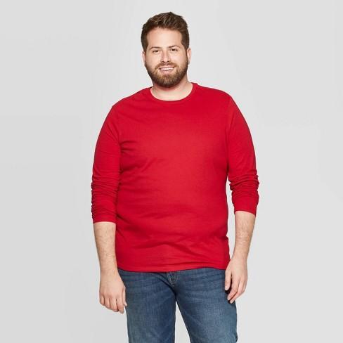 Men's Big & Tall Regular Fit Long Sleeve Lyndale T-Shirt - Goodfellow & Co™ - image 1 of 3