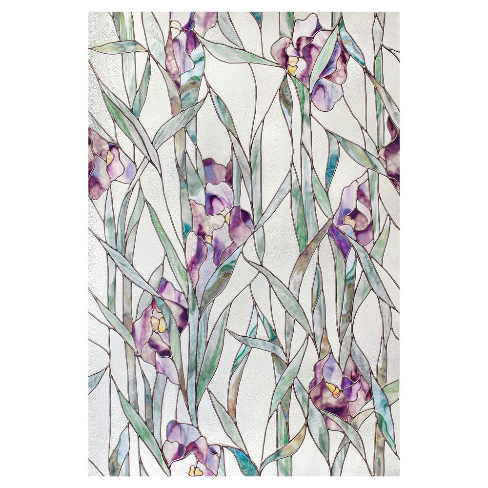 "Image of ""Artscape Iris (Purple) Window Film (24"""" x 36"""")"""