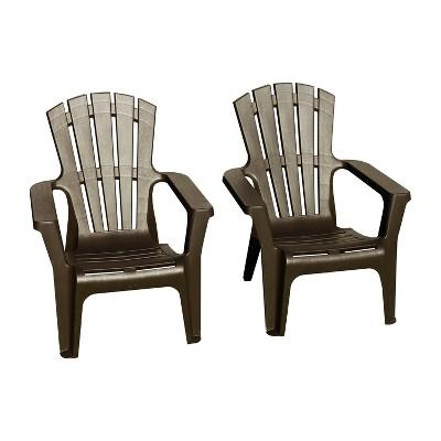 2pk Maryland Adirondack Chair Brown - Thy Hom