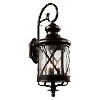 "Tennessee 23"" Outdoor Wall Light in Bronze"