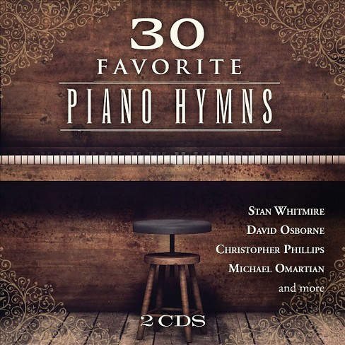 Various Artists - 30 Favorite Piano Hymns (CD) - image 1 of 1