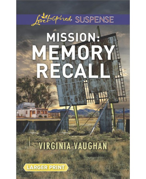 Mission Memory Recall (Large Print) (Paperback) (Virginia Vaughan) - image 1 of 1