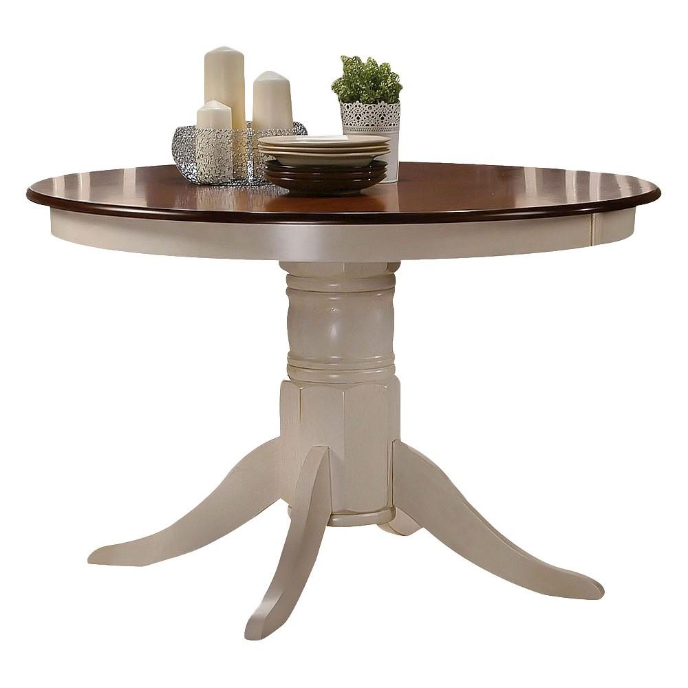 Dylan Dining Table Wood/Buttermilk/Oak - Acme