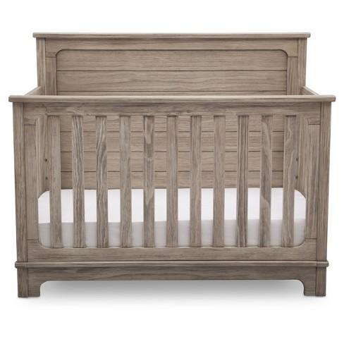 Simmons Kids Slumbertime Monterey 4 In 1 Convertible Crib Rustic White Target
