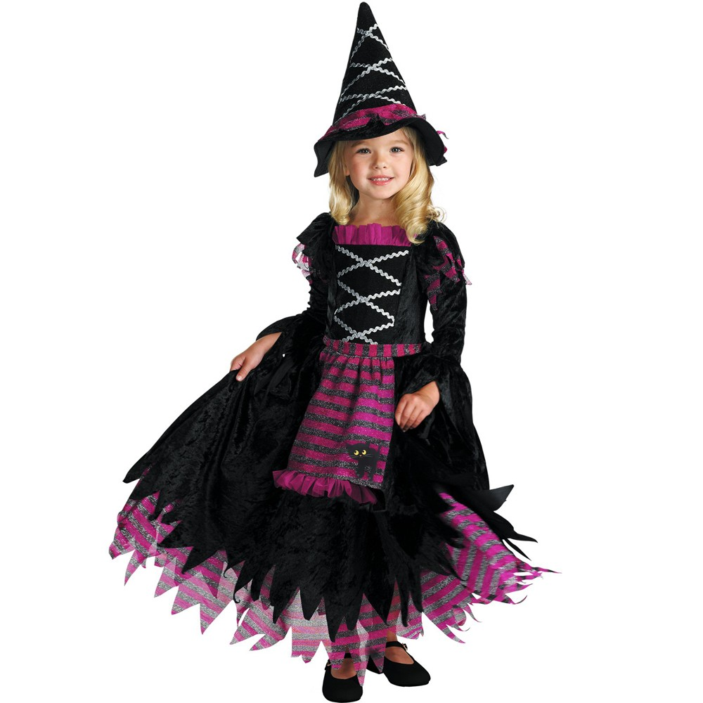 Girls' Fairytale Witch Costume S(4-6)