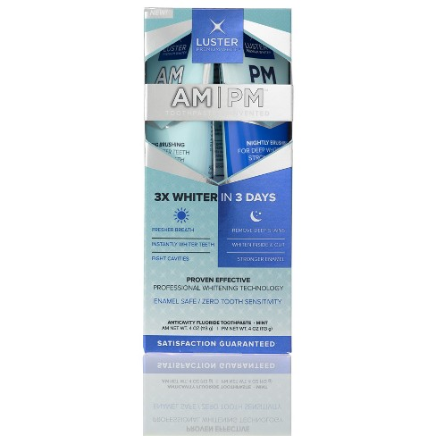 Luster Mint Anticavity Fluoride Toothpaste - 4oz - image 1 of 3