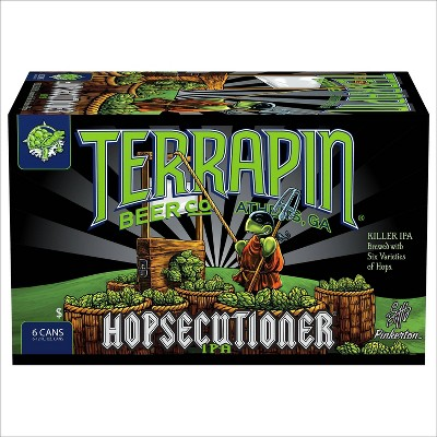 Terrapin Hopsecutioner IPA Beer - 6pk/12 fl oz Cans