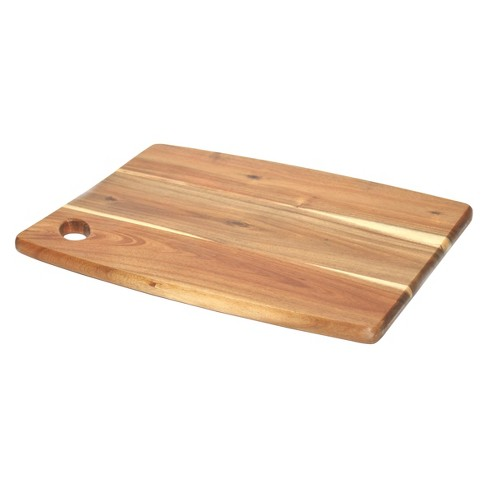 "P!zazz 11.5""X 15"" Acacia Wood Cutting Board - image 1 of 1"