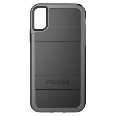 buy online cccfd 035b1 Pelican iPhone X Case - Black/Gray