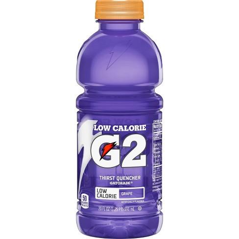Gatorade G2 Grape Sports Drink 20 Fl Oz Bottle