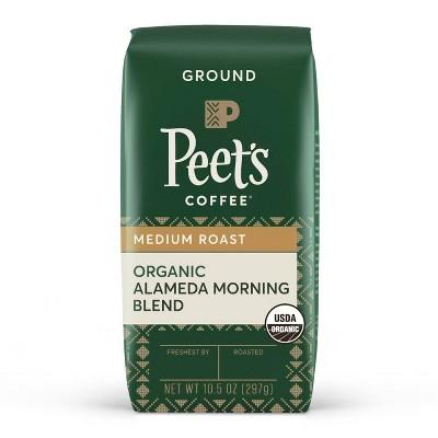 Peet's Coffee Organic Alameda Blend Medium Roast Ground Coffee - 10.5oz
