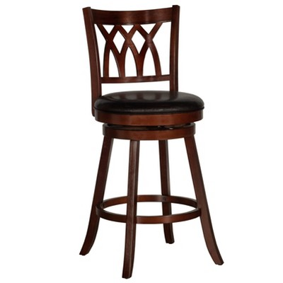 "31"" Tateswood Swivel Barstool Cherry/Brown - Hillsdale Furniture"
