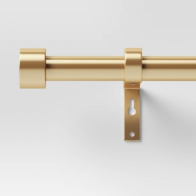 "36""-66"" Dauntless Curtain Rod Brass - Project 62™"