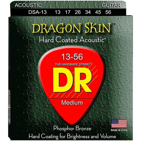 DR Strings DSA-13 Dragonskin K3 Coated Acoustic Strings Heavy - image 1 of 1