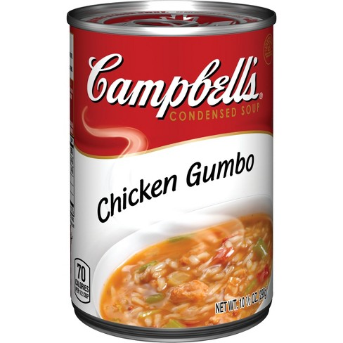 Campbell's® Condensed Chicken Gumbo Soup 10.5 oz - image 1 of 4
