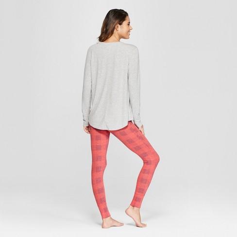 0935b03cd3e9 Women s Stay Cozy Pajama Set - Xhilaration™ Gray   Target
