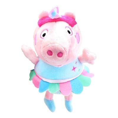 Fiesta Peppa Pig 8 Inch Character Plush | Unicorn Peppa