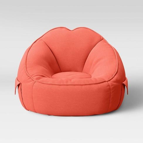 Sensational Jersey Bean Bag Chair With Pockets Pillowfort Beatyapartments Chair Design Images Beatyapartmentscom