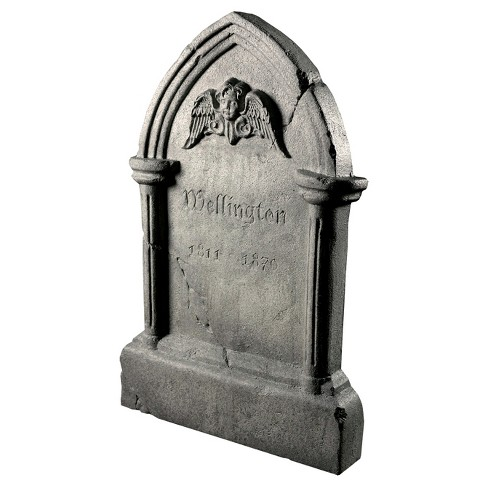Halloween Tipping Tombstone Frightronic - image 1 of 2