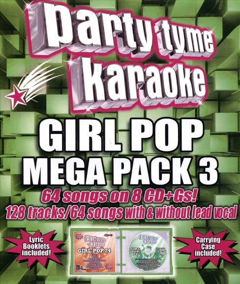 Various - Party tyme karaoke:Girl pop mega pack (CD) - image 1 of 1