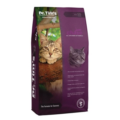 Dr. Tim's Pet Food Chase with Chicken Adult Premium Dry Cat Food - 5.15lbs
