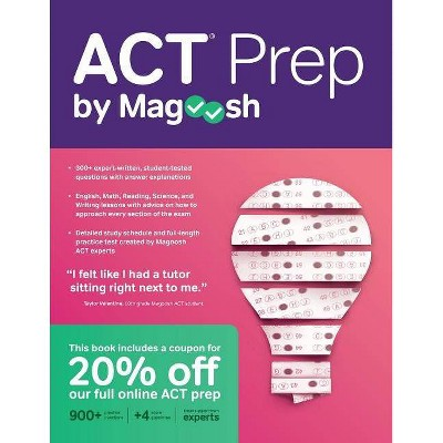 ACT Prep by Magoosh - (Paperback)