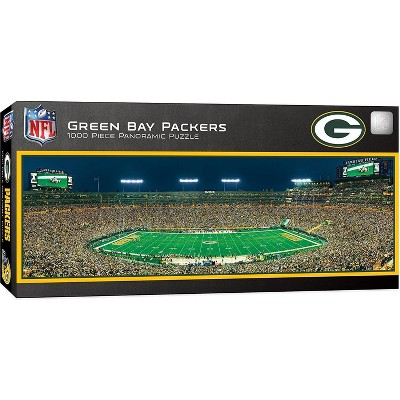 MasterPieces Inc Green Bay Packers Stadium NFL 1000 Piece Panoramic Jigsaw Puzzle