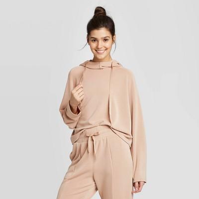 Women's Slounge Sweatshirt - JoyLab™ Dusty Peach L