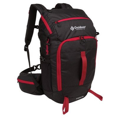 Outdoor Products Shasta 35L Technical Frame Backpack - Black