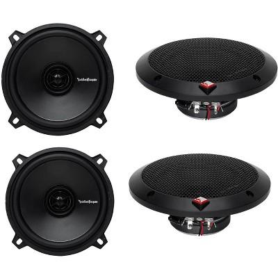 """(2) Pairs Rockford Fosgate R1525X2 5.25"""" 2-Way 320 Watt Total Car Audio Speakers"""
