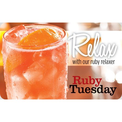 Ruby Tuesday $25 (Email Delivery)