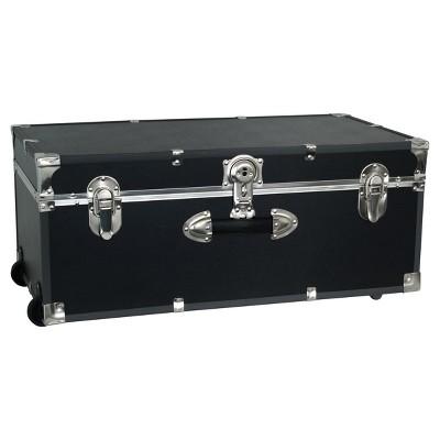 Ordinaire Mercury Collegiate Footlocker Storage Trunk With Wheels   30in