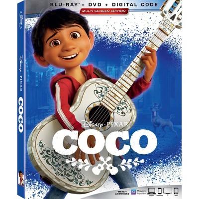 Coco (Blu-ray + DVD + Digital)